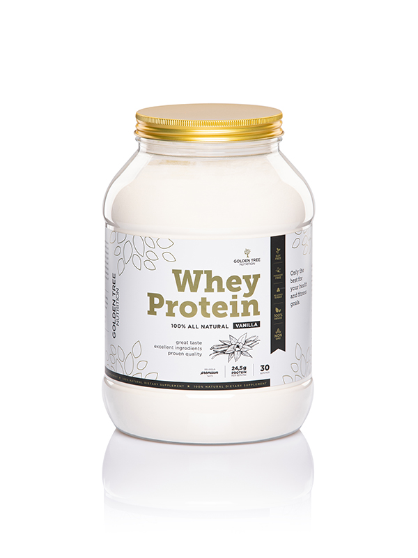 Whey proteine 100% All-Natural