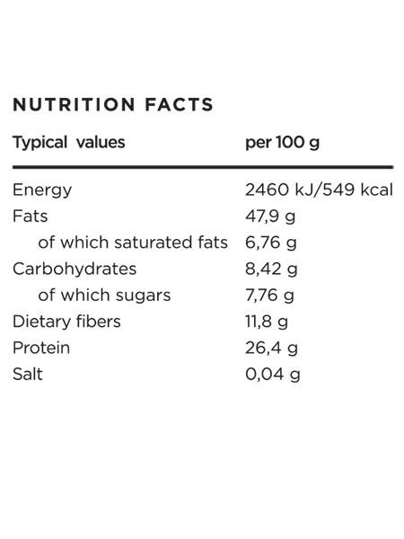 100% Bio burro di arachidi