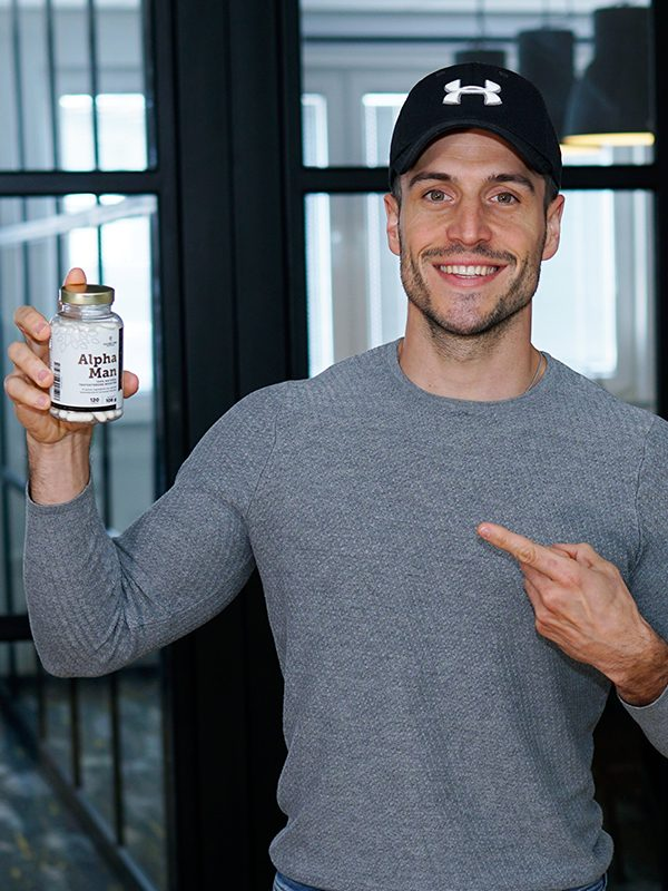 Alpha Man 100% Natural Testosterone Booster