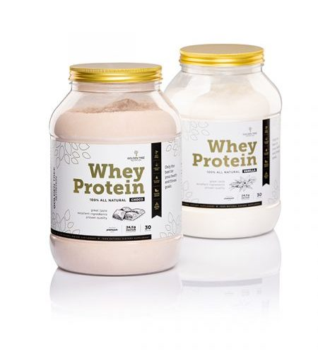 "Golden TREE ""100% All-Natural"" Whey Protein"