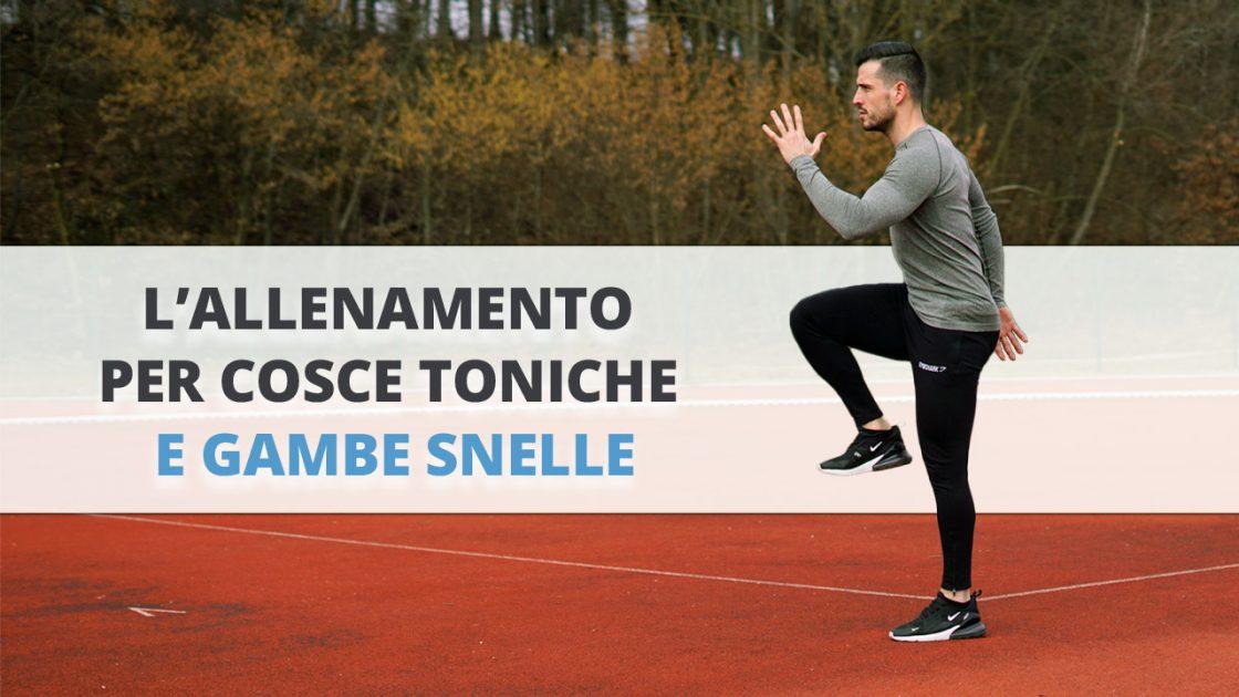 9 esercizi migliori per cosce toniche e belle gambe che puoi fare a casa