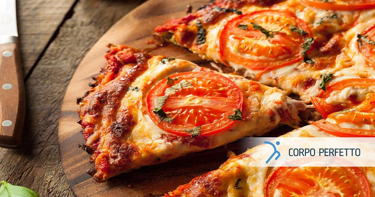 Pizza ipocalorica con impasto di… cavolfiore