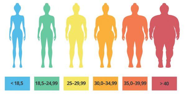 Come si calcola l'indice di massa corporea