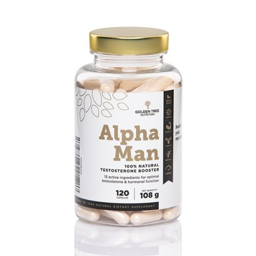 Golden Tree Alpha Man 100% Natural Testosterone Booster