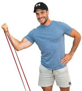 Gli esercizi migliori per il bicipite brachiale con l'elastico