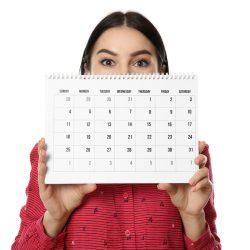 quanto dura il ciclo mestruale - calendario