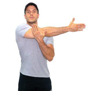 sollevamento del braccio ai lati