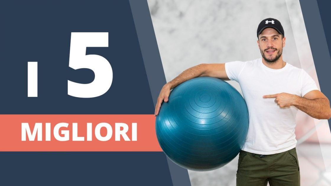 I 5 migliori esercizi con la palla per tutto il corpo