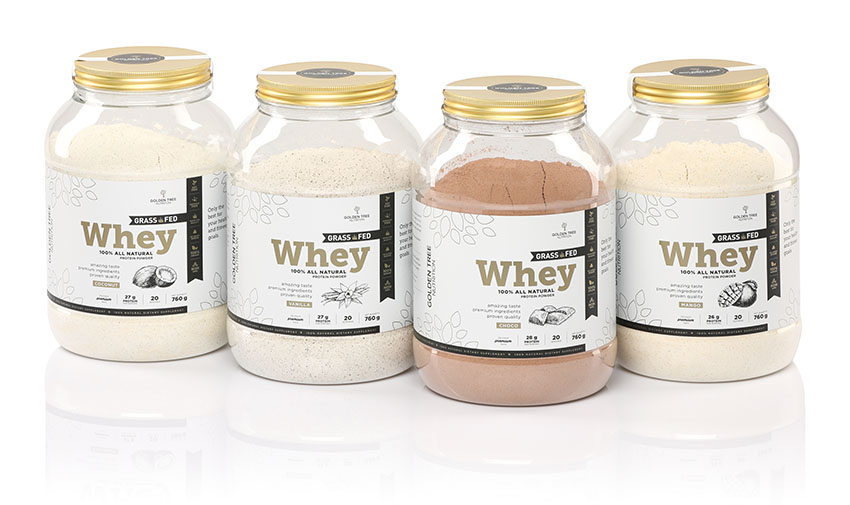 golden tree grass fed whey protein