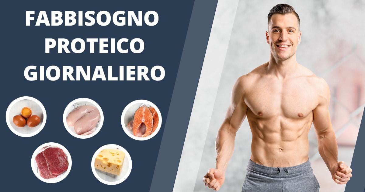 Quante proteine al giorno assumere?