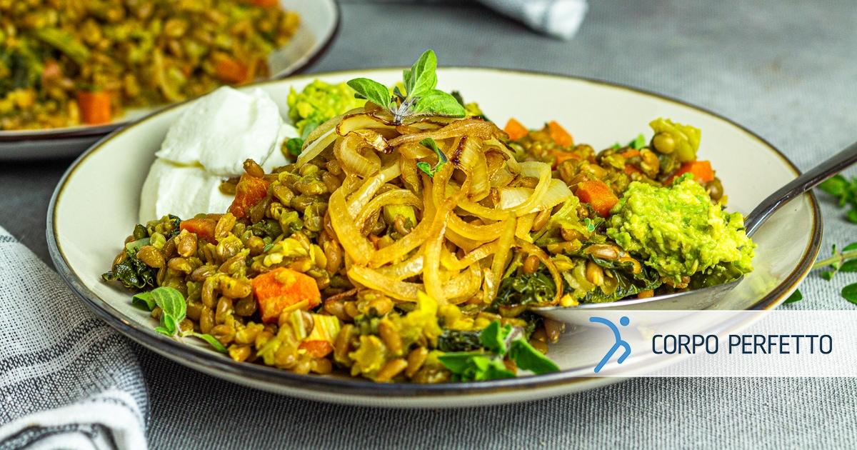 Mujaddara – un piatto mediorientale vegetariano