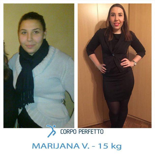Nonostante l'infortunio al ginocchio, Marijana non ha mollato