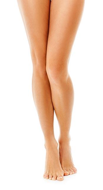 gambe toniche e magre