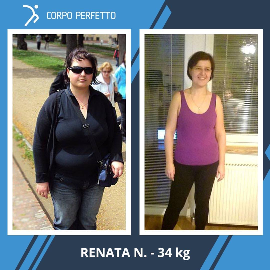 Renata ha perso ben 34 kg! In un anno e mezzo ha fatto l'inimmaginabile…