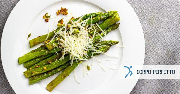 Asparagi saltati con parmigiano