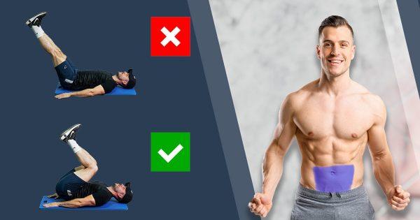 Addominali bassi – i 10 esercizi più efficaci