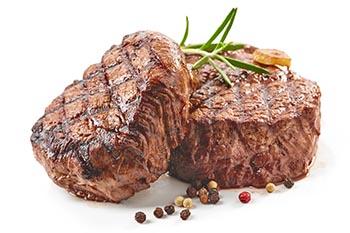 la carne di manzo magra