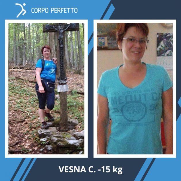 Vesna è molto più contenta e sana