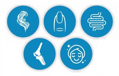 benefici dell'assunzione di collagene per la pelle