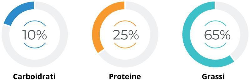 il rapporto tra macronutrienti nella dieta low carb