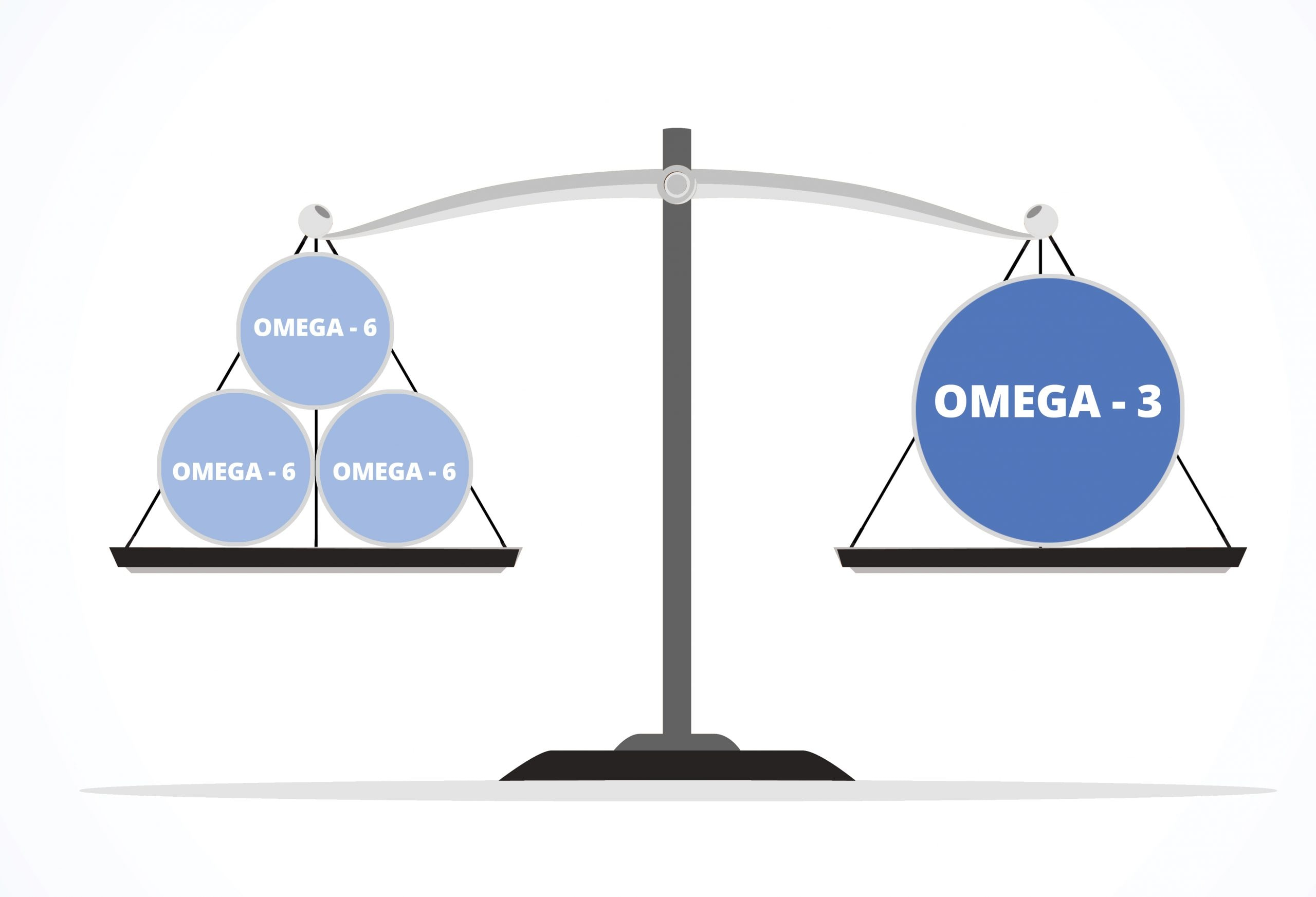 omega 6 vs omega 3
